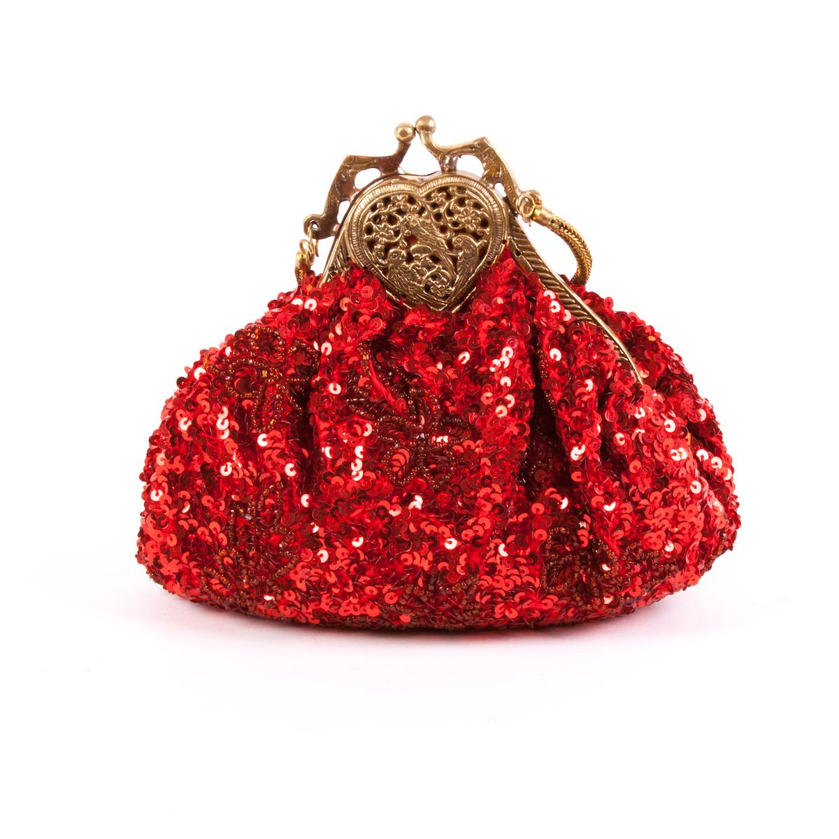 Bolso joya rojo