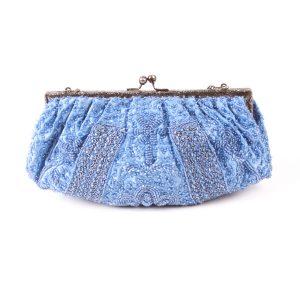 Bolso de fiesta azul
