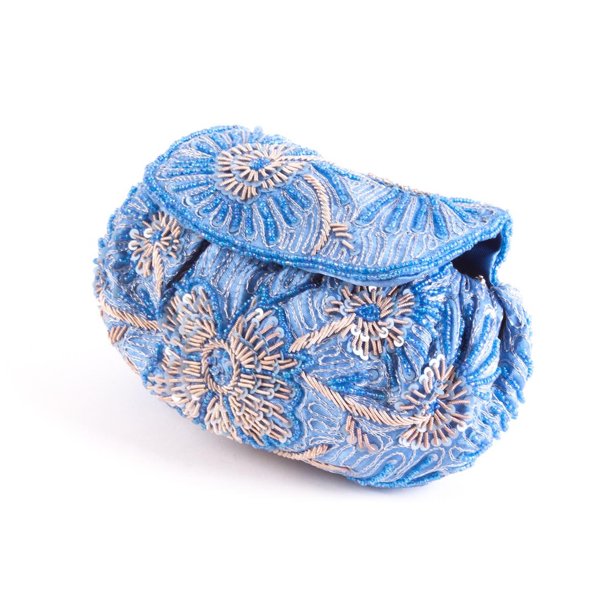 Bolso Bombonera azul