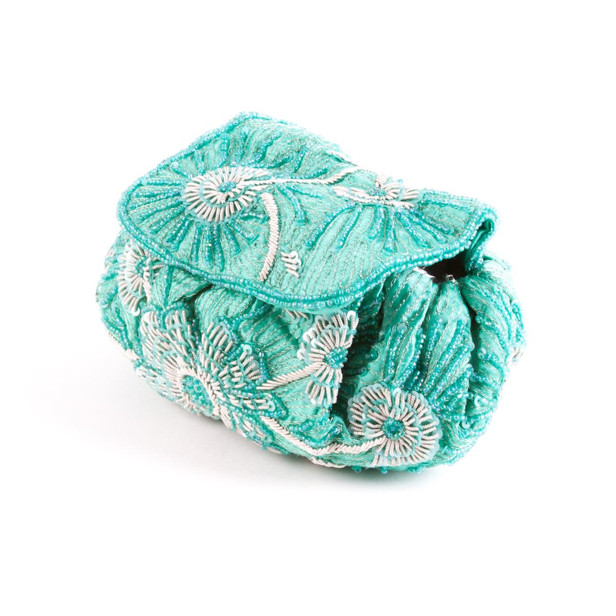 Bolso bombonera verde menta