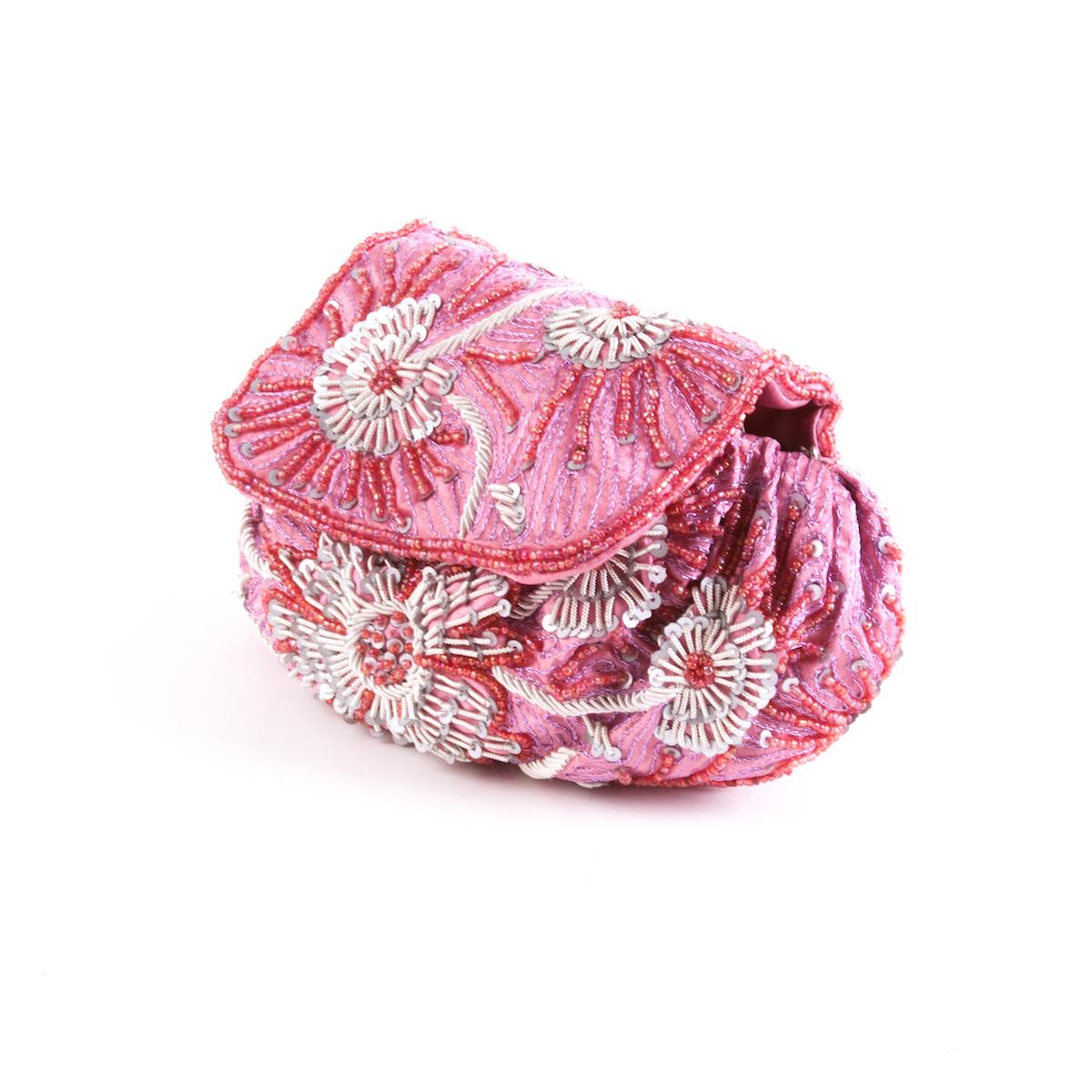 Bolso Bombonera rosa