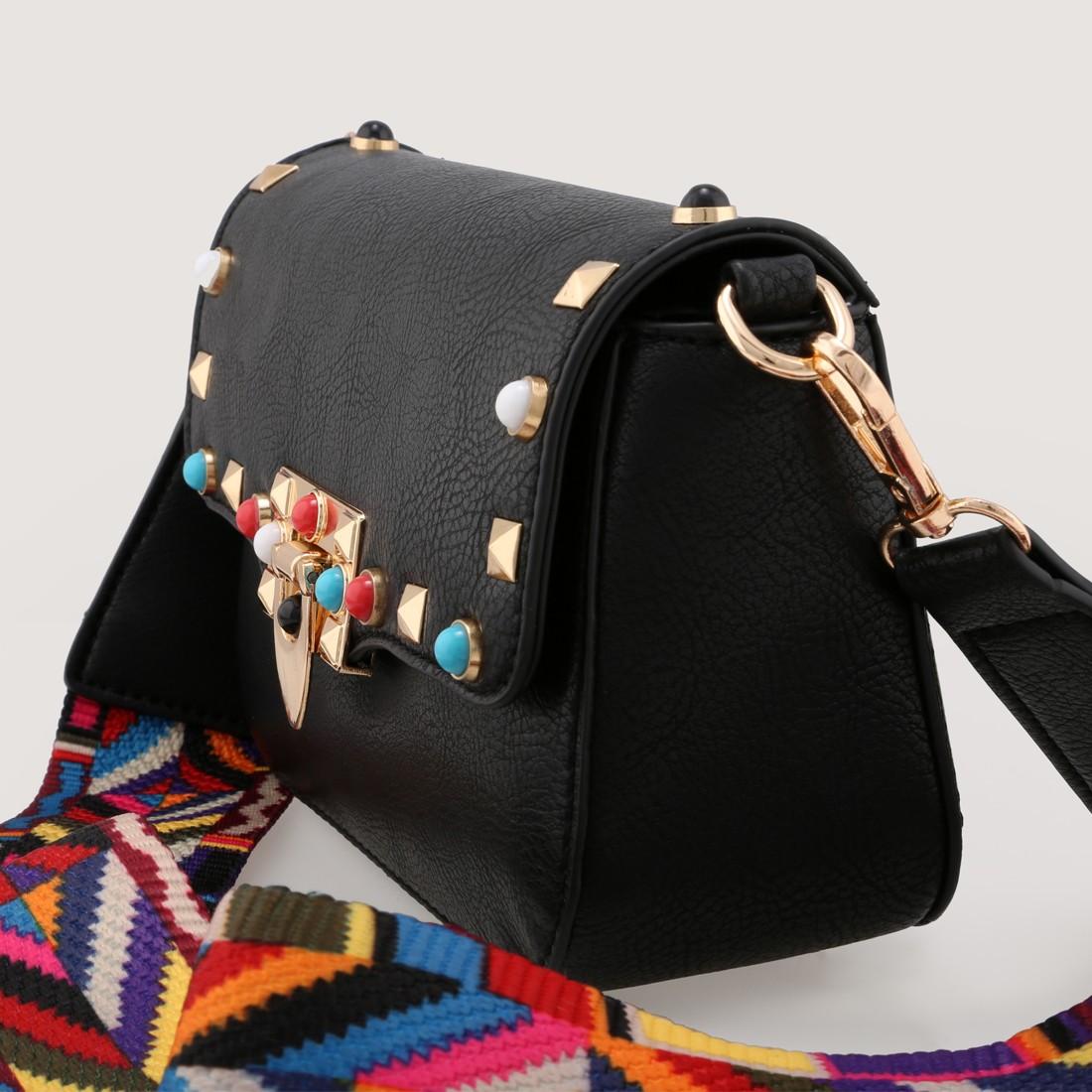 bolso bandolera negro