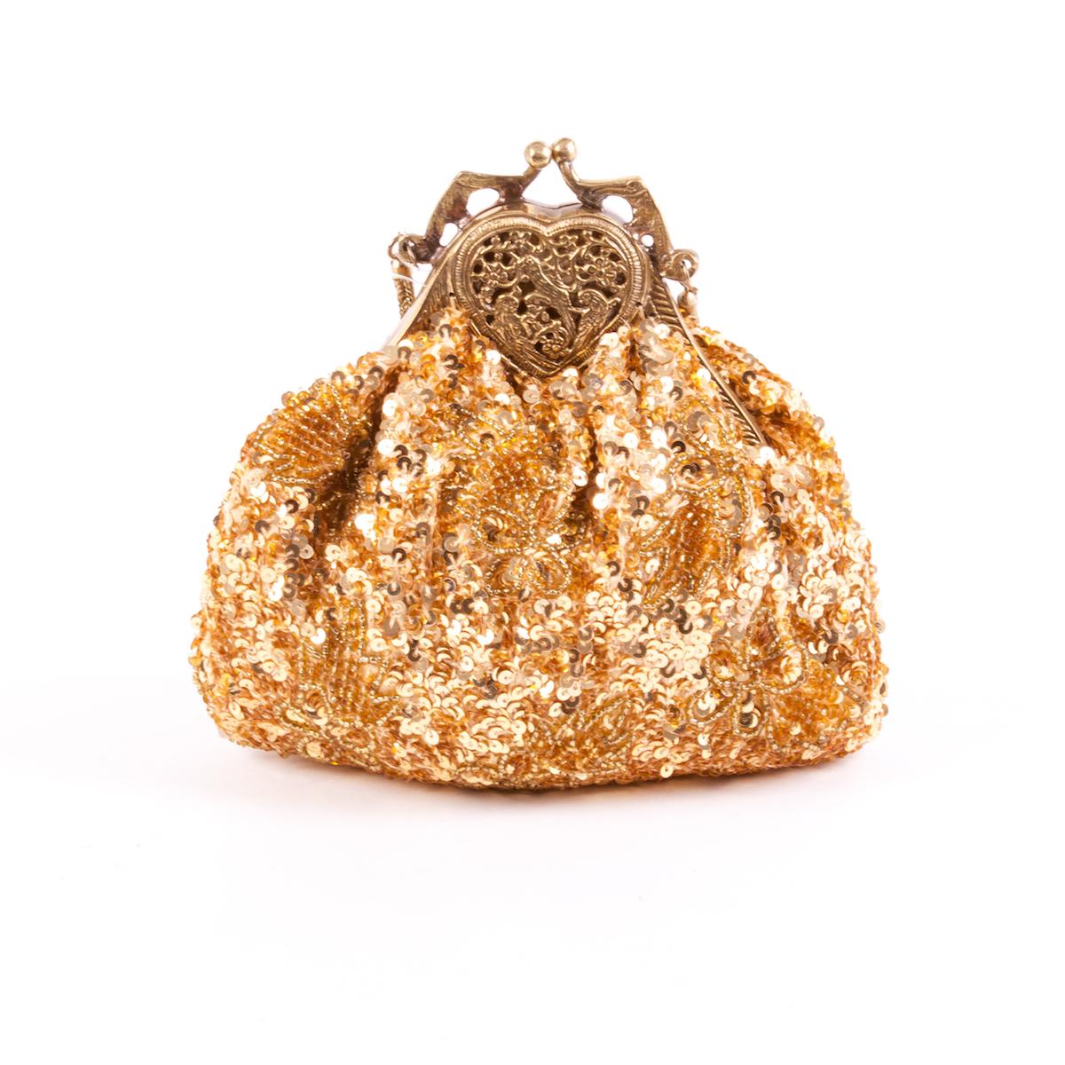 Bolso joya Oro